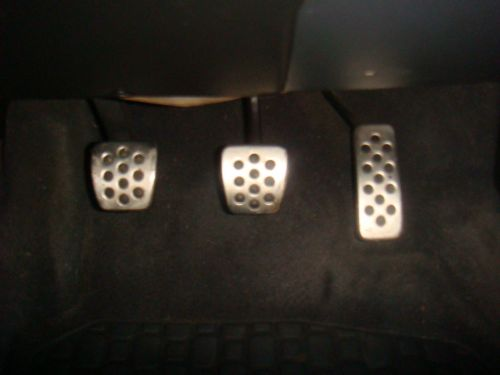 ASTRA MK4 GSI ALLOY PEDAL COVERS, SET OF 3